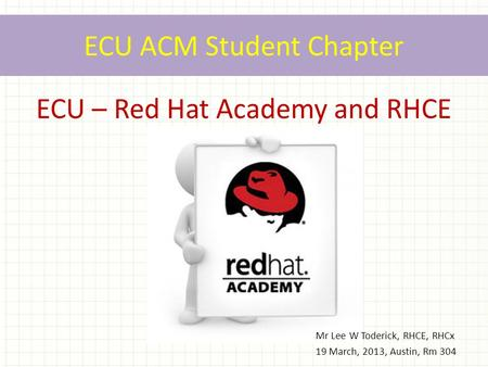 ECU ACM Student Chapter