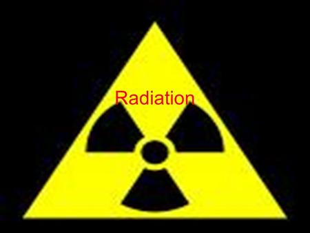 Radiation. When you see or hear this word what do you think about? What do you think it means? Share your thoughts with me by writing on the post it what.