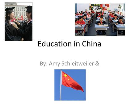 Education in China By: Amy Schleitweiler &. Differences in Education Western Education push for lateral thinking, Chinese teachers push for repetition.