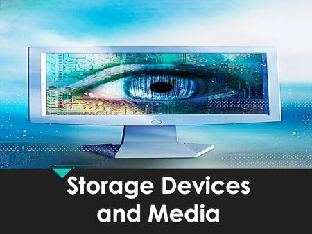 What is Data Storage? 'Storing' data, we mean putting the data in a known place. ' Writing ' data or ' saving ' data are other ways of saying 'storing'
