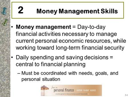 basic money management skills pdf