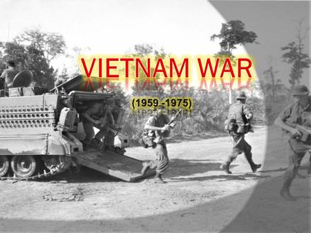  In the 1950's the United States began to send troops to Vietnam.  During the following 25-years the ensuing war would create some of the strongest.