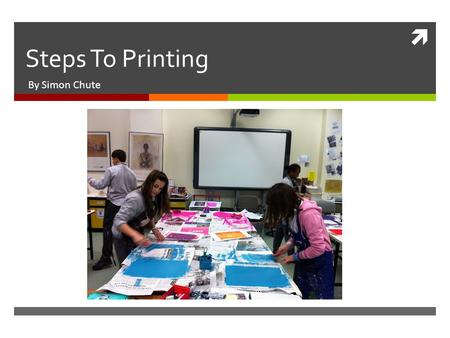  Steps To Printing By Simon Chute. Step 1: Get Supplies  You will need:  Styrofoam sheet, Dull pencil, Tracing Paper, Different coloured ink (not paint),