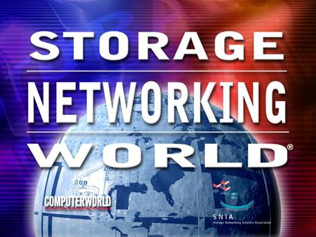 Development of an API Standard in Interoperable Storage Networking Benjamin F. Kuo Troika Networks, Inc.
