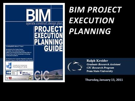 Bim project execution planning guide.