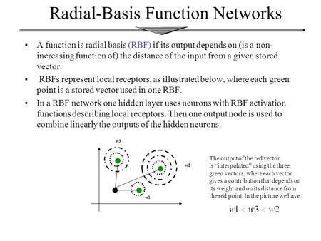 Ppt – radial-basis function networks powerpoint presentation.