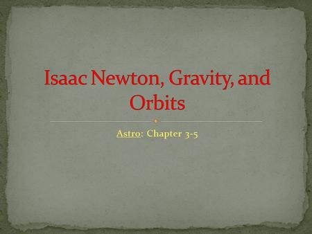 Astro: Chapter 3-5. The birth of modern astronomy and of modern science dates from the 144 years between Copernicus' book (1543) and Newton's book (1687).