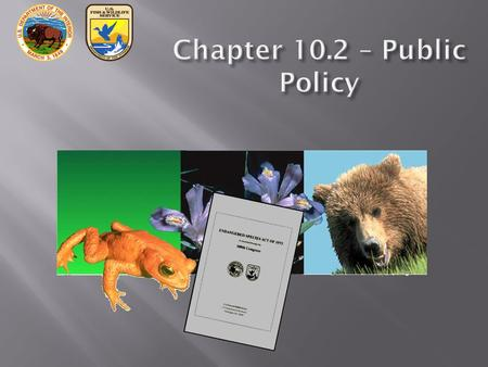 Chapter 10.2 – Public Policy