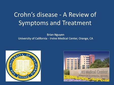 Crohn's disease - A Review of Symptoms and Treatment