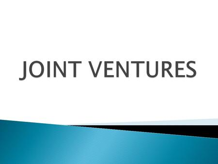  When Permitted  Size Requirements in Joint Ventures  8(a) Joint Venture Requirements  Joint Venture Review Process  Summary of Substantive Changes.