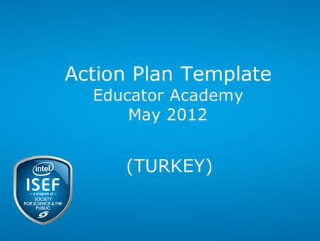 Action Plan Template Educator Academy May 2012 (TURKEY)