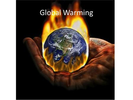 Global Warming. What is global warming? (Let's Brainstorm)