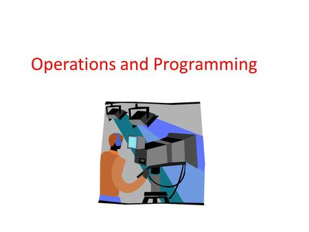 Operations and Programming. Commercial broadcast stations: Hold a federal (FCC) license for a specific community. Transmit programs over the air (compare.