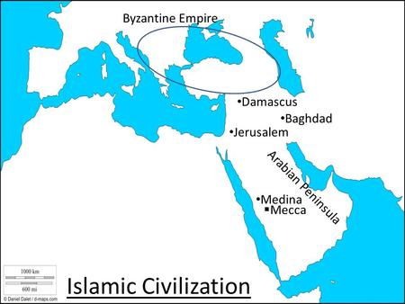 Islamic Civilization Byzantine Empire Damascus Baghdad Jerusalem
