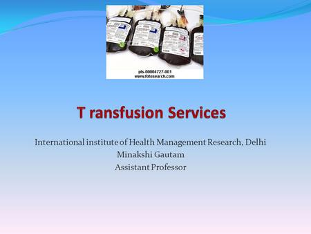 International institute of Health Management Research, <strong>Delhi</strong>