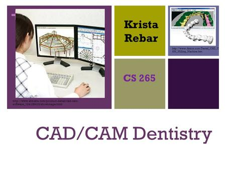 Application of CAD/CAM Technology in Dentistry - ppt video