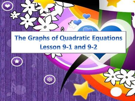 You can use a quadratic polynomial to define a quadratic function A quadratic function is a type of nonlinear function that models certain situations.