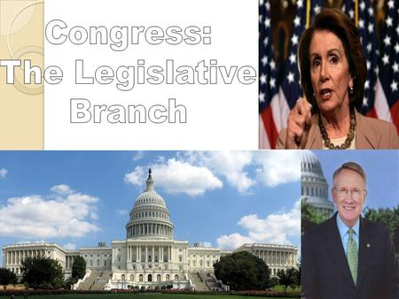 "Basic Information Since you get new Representatives every 2 years, we call each 2 year period a ""term"" of Congress The terms are numbered consecutively…"