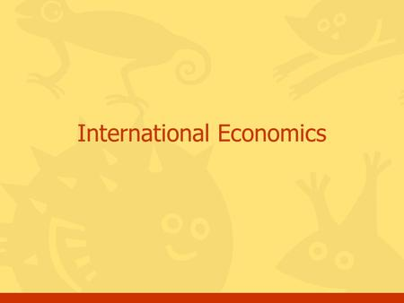 International Economics. Question 1 Foreign Exchange refers to A. Diplomatic meetings of heads of state C. International trade between nations B. Political.