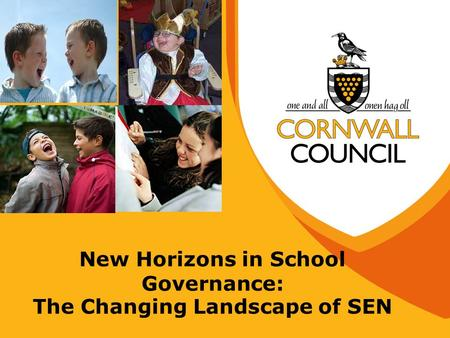 New Horizons in School Governance: The Changing Landscape of SEN.