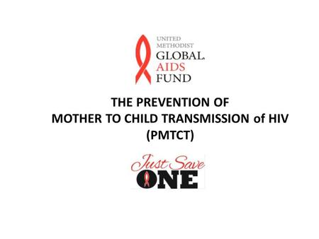 THE PREVENTION OF MOTHER TO CHILD TRANSMISSION of HIV (PMTCT)