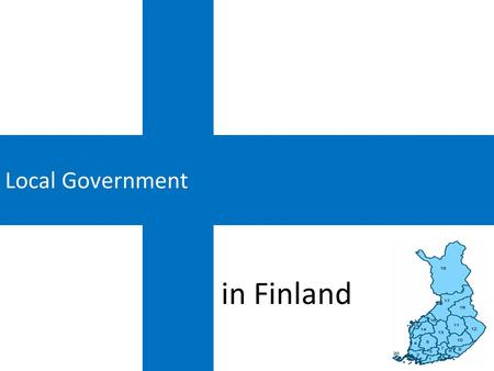 Local Government in Finland.