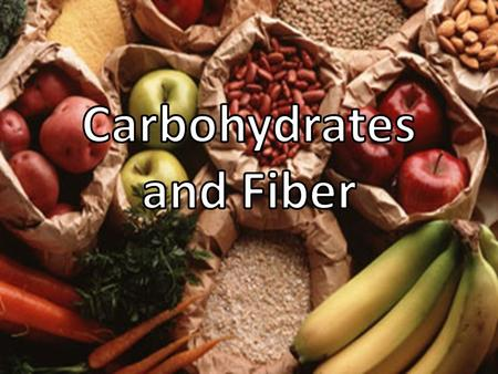 What is a Carbohydrate? Carbohydrates are the main nutrients found in the grain group. Carbohydrates can be found in smaller quantities from the other.