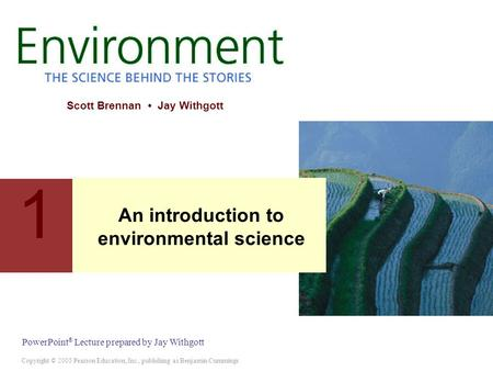An introduction to environmental science