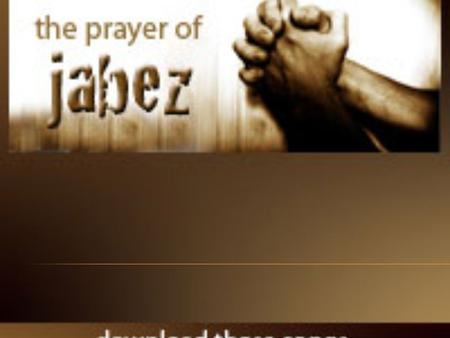 "Jabez was more honorable than his brothers. His mother had named him Jabez, saying, ""I gave birth to him in pain."" Jabez cried out to the God of Israel,"