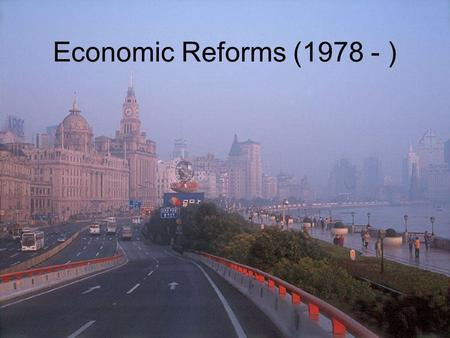 Economic Reforms (1978 - ). People's Republic of China 1949-10-01, PRC, Beijing Chairman: Mao Zedong 5-Star Red Flag Republic of China government retreated.