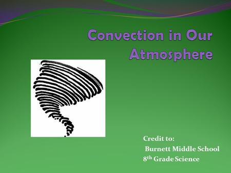 Convection in Our Atmosphere