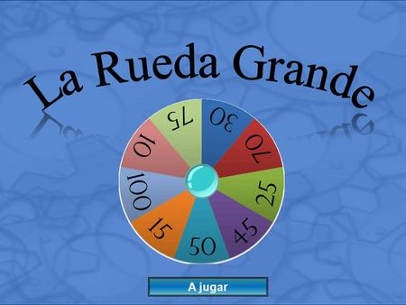 A jugar Instructions: 1) Divide into Teams 2) Ask a Question to a Team 3) If correct, click the Spin Wheel Button to choose the number of points that.
