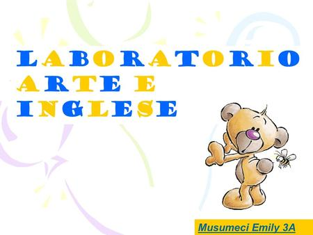 Laboratorioarte eingleseLaboratorioarte einglese Musumeci Emily 3A.