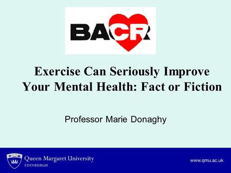 Exercise Can Seriously Improve Your Mental Health: Fact or Fiction