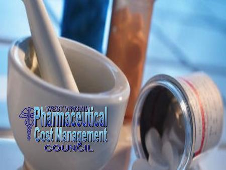 2 H.B. 4084, the Pharmaceutical Availability and Affordability Act, created the West Virginia Pharmaceutical Cost Management Council in 2004. W.Va. Code.