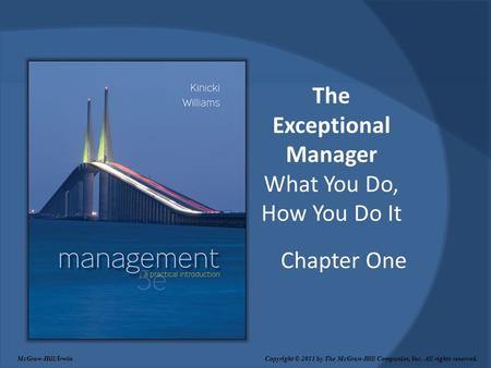 The Exceptional Manager What You Do, How You Do It