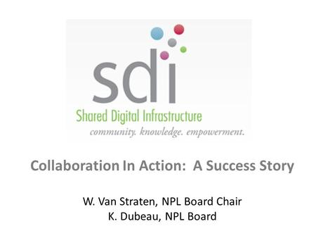 Collaboration In Action: A Success Story
