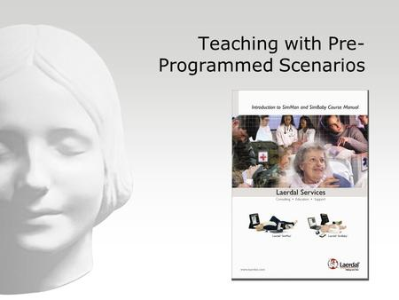 Teaching with Pre-Programmed Scenarios