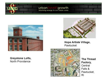 Hope Artiste Village, Pawtucket