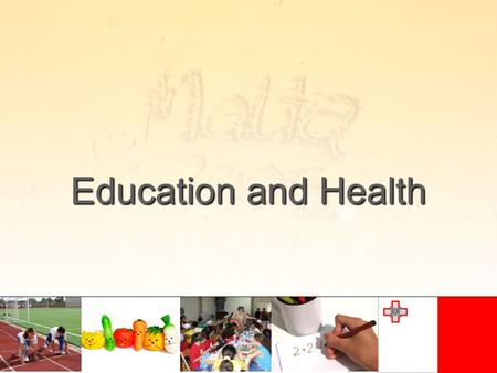 Education and Health. Education Starts at the age of three years when children enter the pre-primary level Although it is voluntary about 95% of the children.