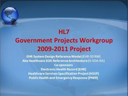 © 2002-2008 Health Level Seven ®, Inc. All Rights Reserved. HL7 and Health Level Seven are registered trademarks of Health Level Seven, Inc. Reg. U.S.