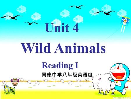 Unit 4 Wild Animals Reading I. Unit 4 The Second Period Reading on P60--62,