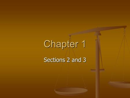Sections 2 and 3 Chapter 1. Review of the Scientific Method The scientific method is not a list of rules that must be followed but a general guideline.