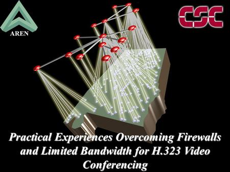 09999/2106 Practical Experiences Overcoming Firewalls and Limited Bandwidth for H.323 Video Conferencing AREN.