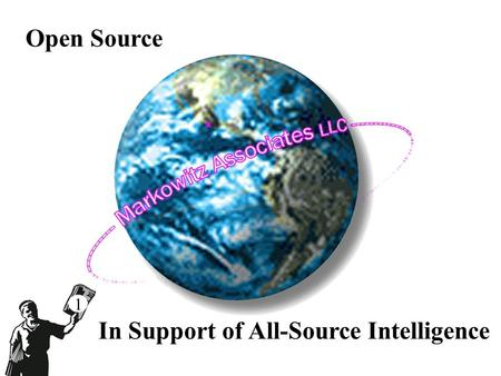 Open Source x In Support of All-Source Intelligence 1.