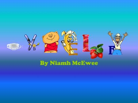 By Niamh McEwee. Facts MY FAVOURITE SINGER IS CEZARR!! I am 13 years old and was born on the 9 th November 1999. I live in Magherafelt. I have 1 brother.