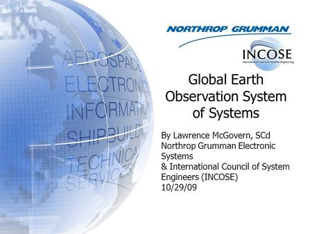Global Earth Observation System of Systems