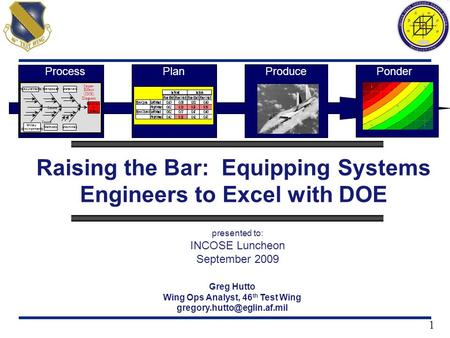Raising the Bar: Equipping Systems Engineers to Excel with <strong>DOE</strong>