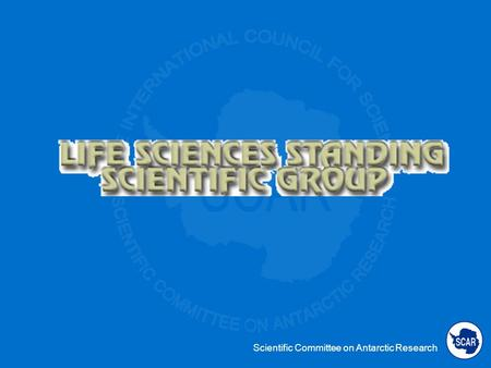 Scientific Committee on Antarctic Research. Expert Group on Human Biology and Medicine Group concluded it would operate more effectively if it amalgamated.