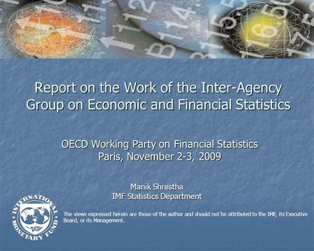 The views expressed herein are those of the author and should not be attributed to the IMF, its Executive Board, or its Management. Report on the Work.